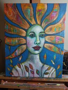 #beautyforashesartanddecor #kimberlymccormick #christianart #flower #portrait