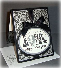 Happy New Year  Handmade card