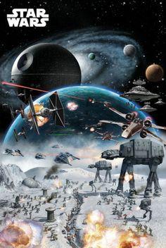 STAR WARS - Battle Posters AllPosters.fi-sivustossa