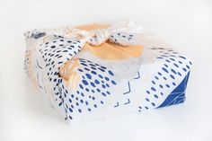 Mountain Blossom Furoshiki. Japanese multi by thelinkcollective