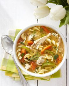 Ultimate Chicken Noodle Soup countryliving