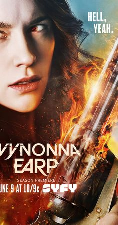 With Melanie Scrofano, Shamier Anderson, Tim Rozon, Dominique Provost-Chalkley. Based on the IDW Comic, Wynonna Earp follows Wyatt Earp's great granddaughter as she battles demons and other creatures. With her unique abilities, and a posse of dysfunctional allies, she's the only thing that can bring the paranormal to justice.