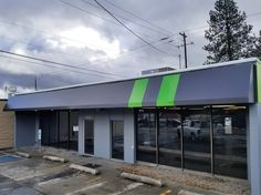 Custom Fabric Open Shed Style Awnings Created For Verizon Wireless In Kirkland Wa Open Shed Canopy Outdoor Decor