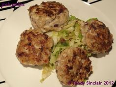 I have used pork as my basis for the Pork Patties, and as I am all about healthy eating at the moment, I made smaller ones than I usually do.