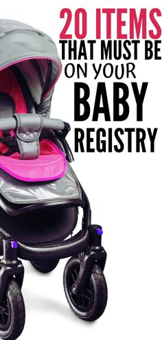 Top 20 baby registry must haves The ultimate baby registry checklist for Here are my picks for the top 20 items you must have! More from my site Ultimate Baby Registry List for New Moms Baby Registry Essentials, Best Baby Registry, Baby Shower Registry, Baby Registry Items, Baby Registry Must Haves, Baby Registry Checklist, New Baby Checklist, Baby Massage, Baby Must Haves
