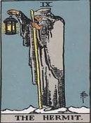 Tarot Grátis - 3 cartas Passado - Presente - Futuro The Hermit Tarot, Tarot Rider Waite, Major Arcana Cards, The Hierophant, Love Tarot, Tarot Card Meanings, Tarot Spreads, Tarot Readers, Tarot Decks