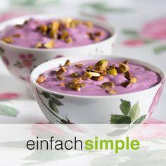 Heidelbeercreme  www.einfach-simple.at Creme, Cooking, Breakfast, Food, Simple, Cuisine, Kitchen, Meal, Eten