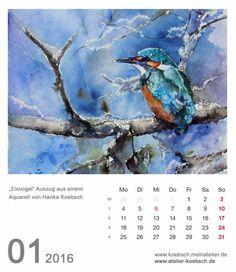 Kalender 2016 | Kalenderblatt Januar 2016