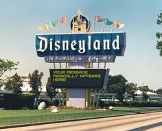 Add your Letters » Disneyland Sign Generator.  Perfect for scrapbooking and card making
