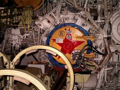 Marvel at the bewildering collection of machinery within a submarine   Submarines  have to be some of the most sophisticated pieces of machi...