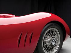 Classic Car: 1957 Maserati 250S | Inspiration Grid | Design Inspiration