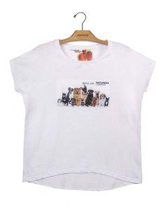 Camiseta Algodão Reta Cães www.usenatureza.com #UseNatureza #JeffersonKulig