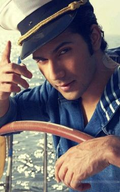 Summer Special: Varun Dhawan plays a sexy sailor Cute Celebrities, Indian Celebrities, Bollywood Celebrities, Bollywood Actress, Celebs, Bollywood Couples, Bollywood Stars, Varun Dhawan Instagram, Varun Dhawan Photos