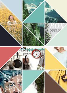 for bloggers : pinterest // breanna rose // triangles // sneak peek // colors // shapes // geometric graphics