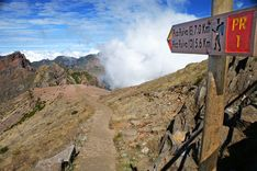 One of Madeira's 3 highest mountain peaks