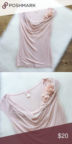 🍋SALE🍋H&M Dusty Pink Sleeveless Top H&M Dusty Pink Sleeveless Top, size is XS, back is cotton like material, front is covered by double layer of sheer. Absolutely gorgeous, part of the conscious collenction, worn a couple of times but washed and hung to dry, no defects. H&M Tops