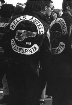 LOVER LOVES...Hells Angels San Francisco, 1969.