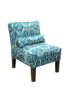 Upholstered Armless Chair by Platinum Collection by SF Designs on Gilt Home