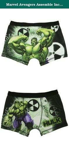 Marvel Avengers Assemble Incredible Hulk Boys Boxer Shorts - Ag - 9-10 (140 cms). Any Hulk fan will love these awesome boys boxer shorts. The trunks have striking full colour images of the main man himself in full smashing mode. Made from 95% cotton and 5% elastane with an elasticated waist. The boys boxers are fully machine washable at 40 degrees and can be ironed on a cool setting inside out. These fantastic Hulk Boxers Shorts are available in sizes 4-5 years (110 cms), 5-6 years (116…