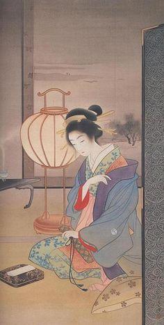 Paintings of Uemura Shoen - mini gallery