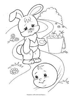 Раскраска Лиса и колобок | Раскраски, Шаблоны животных ...