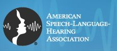 American Speech Language Hearing Association with information on children and adults with speech and hearing impairments