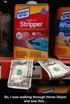 stripper. Ha ha funny stuff