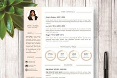 Modern Resume Template for Word - Resumes