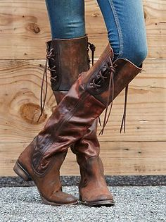 NIB-FREE-PEOPLE-Freebird-by-Steven-Shoreworn-Tall-Boot-in-Rust-Color-sz-7-398