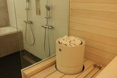 Tulikivi Kuura saunaheater featured at Hedda's: Kylpyhuoneessa, vol 2 blog.