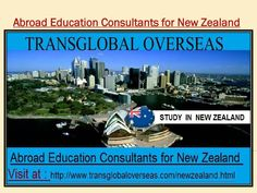 Abroad education consultants for new zealand  New Zealand has kept their procedures concerning giving unending residency to general understudies shockingly key and this is the reason it has could be first decision for abroad understudies to pick New Zealand as a most worshiped destination for concentrate Overseas . Visit at: http://www.transglobaloverseas.com/