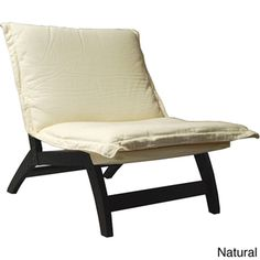 Casual Folding Lounger Chair. Comfy reading chair in office AND extra seating for movie night