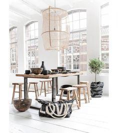 10x minimalistische lampen van linnen en bamboe