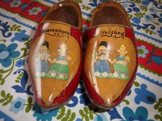 Childs Dutch Shoes from Holland Very Nice