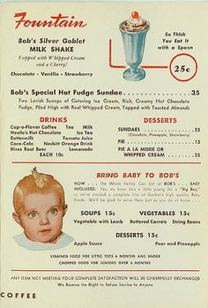 Original Bob's Big Boy Menu