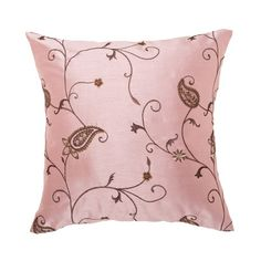 Pink And Brown Love Pillows Cream Bedroom Decor