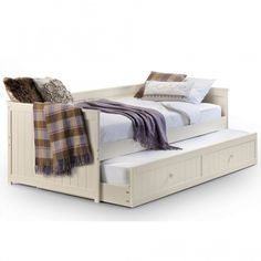 Make your home feel a lot more furnished and complete by introducing this stunning Jessica Daybed & Underbed Trundle.   #stool #modernstool #contemporarystool #moderninteriordesign #contemporarydesignhouse #furnituredesign  #inspohome #betterhomesandgardens #modernbedroom #contemporarybedroom #luxuryinteriors #luxurydecor #passion4interior #styleathome #roomforinspo #homesdirect365 #homeinspiration #decor