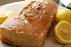 Lemon Yogurt Cake Recipe - 6 Points   - LaaLoosh
