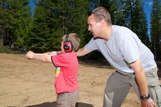Teaching Kids Gun Safety - Home Defense Gun