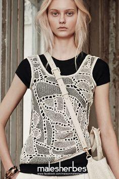 [Moda] Maiyet SS2015 Por favor, siga-nos em nossa página Fackbook, se você está interessado e também para saber mais sobre nós e crochê, tricô, artes, moda, filmes e muito mais ... https://www.facebook.com/maisonmalesherbes/
