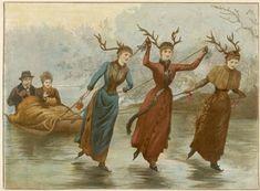 §§§ : Our Reindeer Sleigh : Arthur Hopkins : 1880s