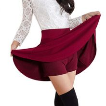 Summer Style Korean version Skirts safty mini skirt women's spring and summer high waist pleated short skirt //FREE Shipping Worldwide //