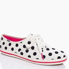 c28baa2c897c1 Kate Spade Polka Dot Keds Lightly worn sneakers. These are the best accent  piece for