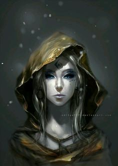 The White. Beautiful character design~