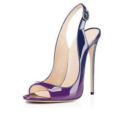 428f7edfa Leopard Peep Toe Slingback Stiletto High Heels Heeled Sandals, Slingback  Sandal, Peep Toe Heels
