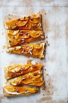Thanksgiving Recipes : Butternut Squash Glazed Tart Recipe