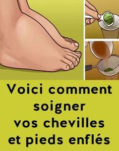 Voici comment soigner vos chevilles et pieds enflés naturellement. Ca marche ! Health Education, Voici, Nutrition, Sport, It Works, Stuff Stuff, Deporte, Sports, Meals