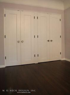 Great New Closet Doors :: Live Beautifully: Bedroom