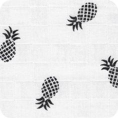 Lange blanc - Ananas noirs