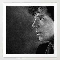 Sherlock Art Print by amandatolleson | Society6